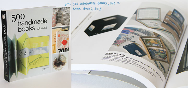 "Feature on ""Local Conditions"" by Chandler O'Leary in ""500 Handmade Books, Vol 2"""