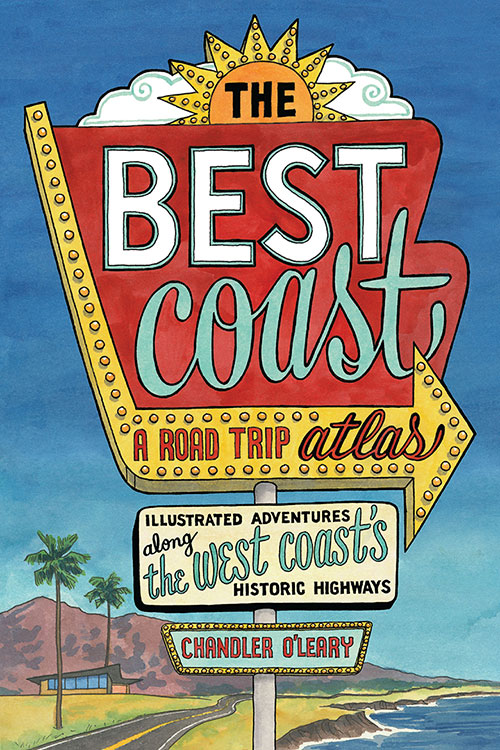 """""""The Best Coast"""" book by Chandler O'Leary"""