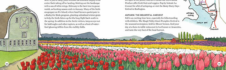 """Skagit Valley excerpt from """"The Best Coast"""" book by Chandler O'Leary"""