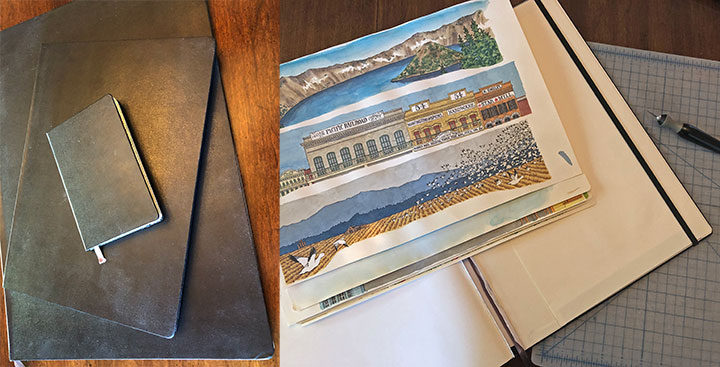 """Illustrations and process behind """"The Best Coast"""" book by Chandler O'Leary"""