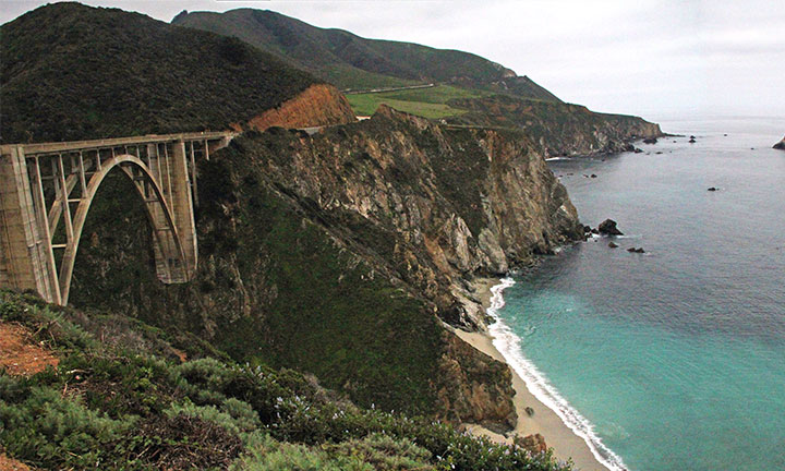 Bixby Creek Bridge photo by Chandler O'Leary