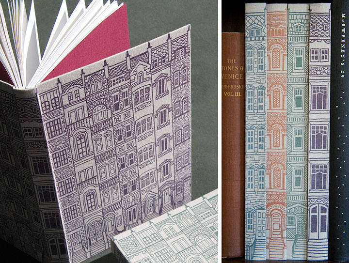 Igloo Letterpress journals illustrated by Chandler O'Leary