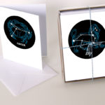 Constellation greeting cards by Chandler O'Leary