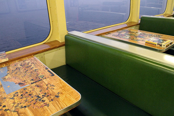WA State ferry puzzles photo by Chandler O'Leary