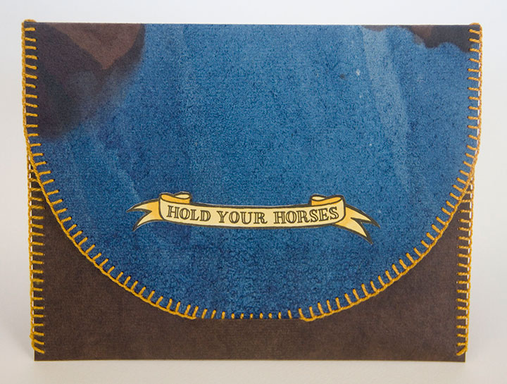"""Hold Your Horses"" artist book by Chandler O'Leary"