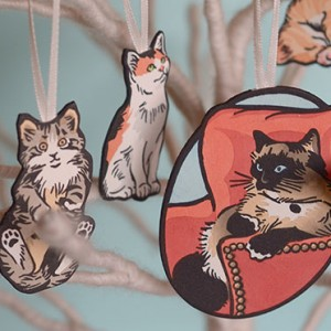 Kitty Ornaments