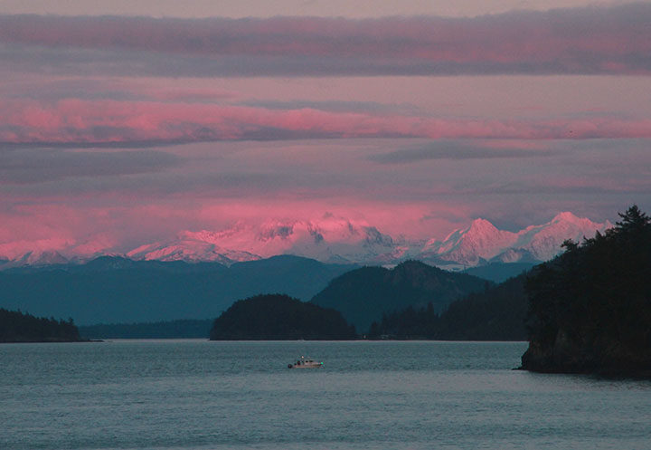 San Juan Islands photo by Chandler O'Leary