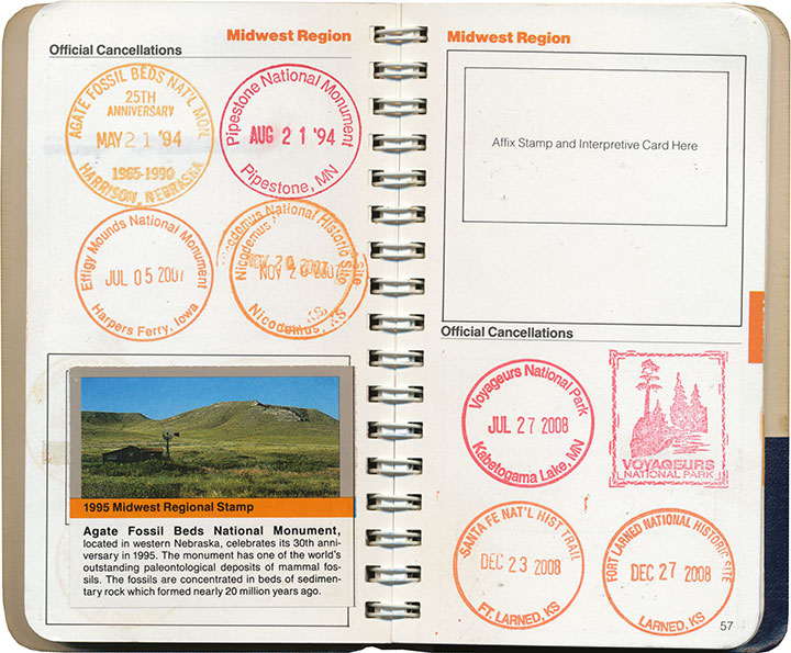 National park stamps chandler o 39 leary for National passport processing center