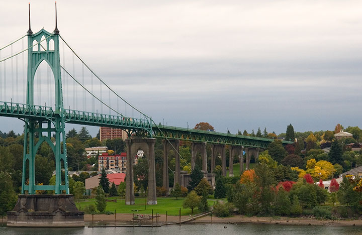 St. Johns Bridge photo by Chandler O'Leary
