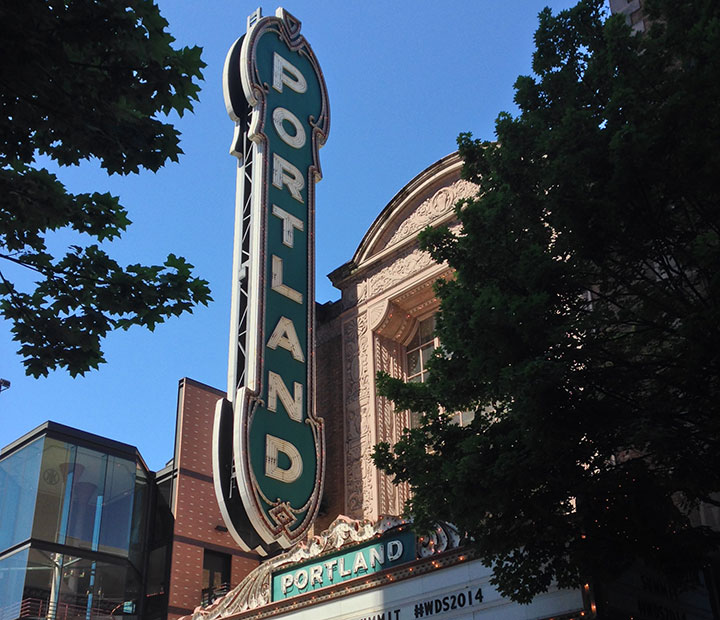 Portland Theatre photo by Chandler O'Leary