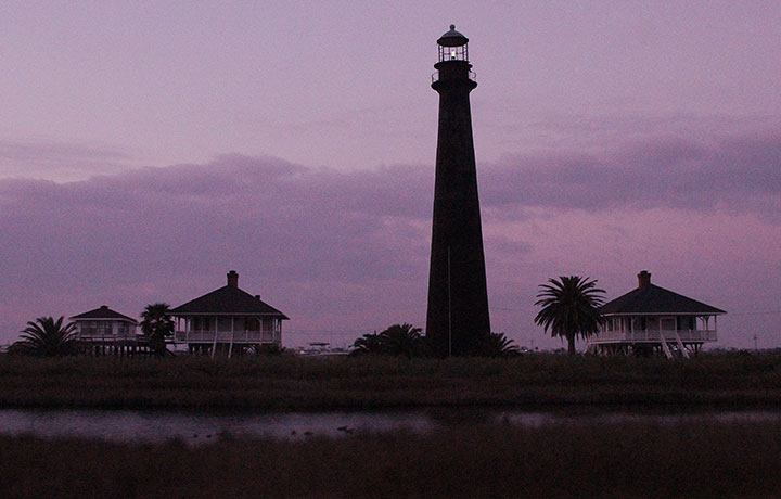 Pt. Bolivar lighthouse photo by Chandler O'Leary