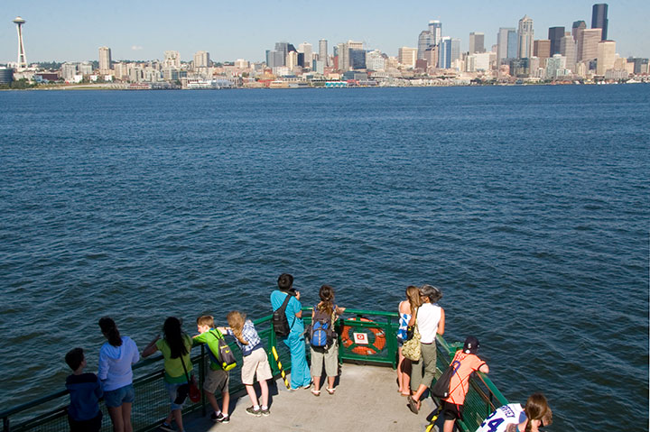 Seattle ferry photo by Chandler O'Leary