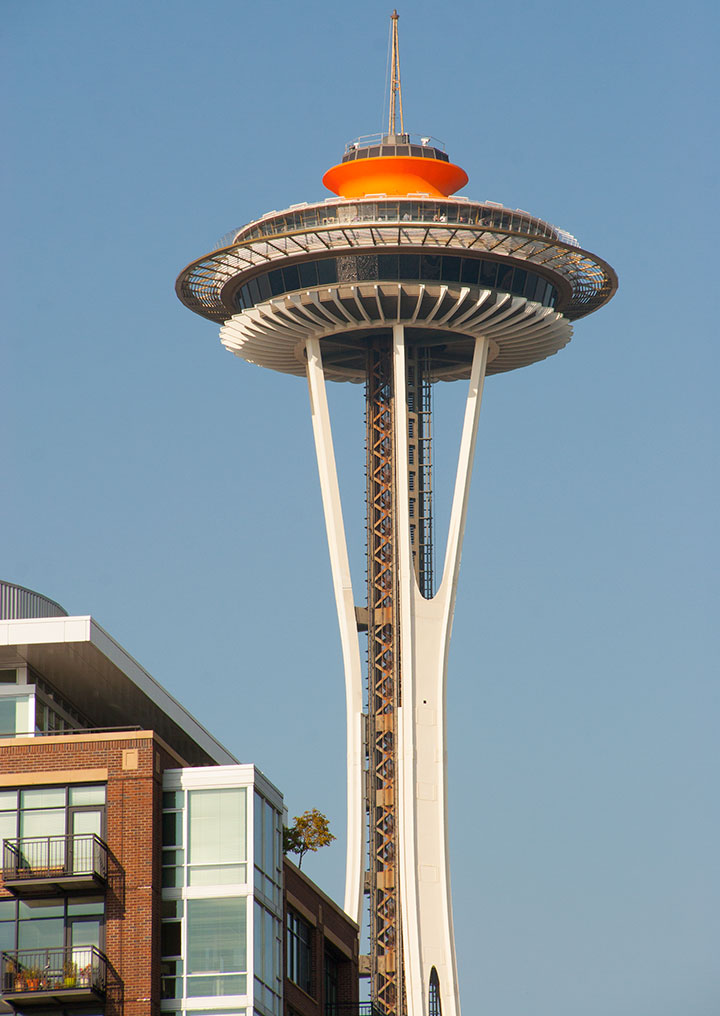Seattle Space Needle photo by Chandler O'Leary