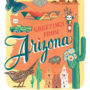 Arizona card from the 50 States series illustrated and hand-lettered by Chandler O'Leary