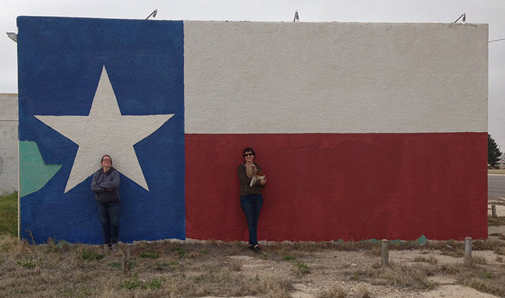 Texas flag photo by Chandler O'Leary