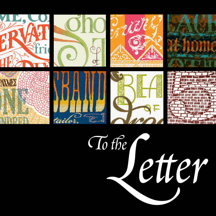 "Promo for Chandler O'Leary's 2009 solo show, ""To the Letter"""