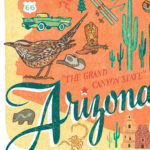 Detail of Arizona illustration by Chandler O'Leary