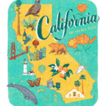 California illustration by Chandler O'Leary