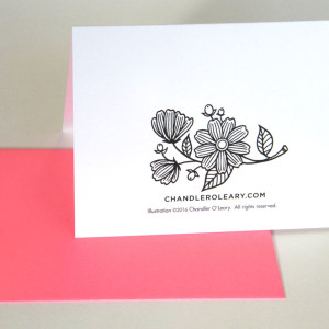 Coloring Card by Chandler O'Leary