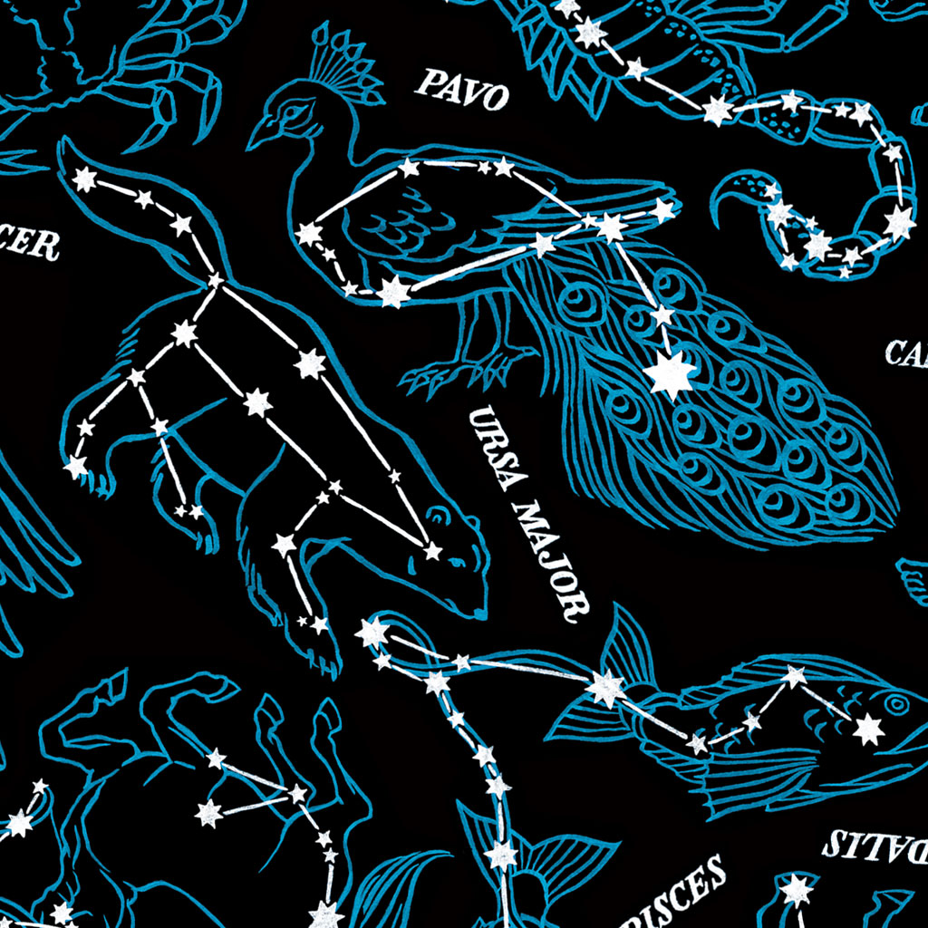 It's just a photo of Gutsy Constellation Patterns Printable