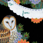 """Love Birds"" gift tags by Chandler O'Leary"