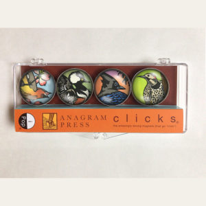 """iPop """"Clicks"""" magnets illustrated by Chandler O'Leary"""