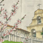 California Mission sketchbook print by Chandler O'Leary