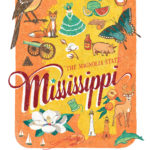 Detail of Mississippi illustration by Chandler O'Leary