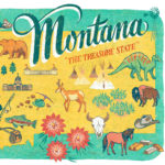 Detail of Montana illustration by Chandler O'Leary