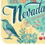 Detail of Nevada illustration by Chandler O'Leary