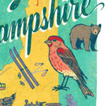 Detail of New Hampshire illustration by Chandler O'Leary