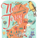 Detail of New Jersey illustration by Chandler O'Leary