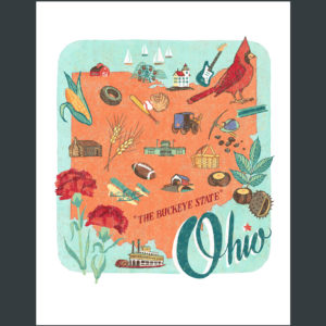 Ohio illustration by Chandler O'Leary
