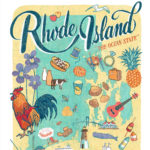 Detail of Rhode Island illustration by Chandler O'Leary