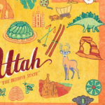 Detail of Utah illustration by Chandler O'Leary