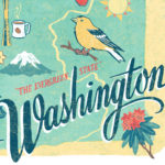 Detail of Washington illustration by Chandler O'Leary