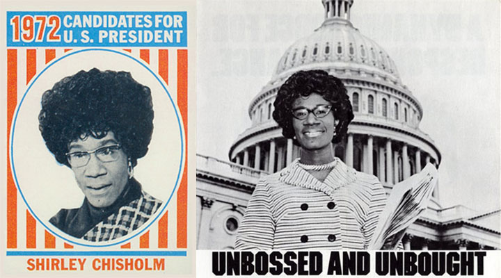 Shirley Chisholm campaign materials
