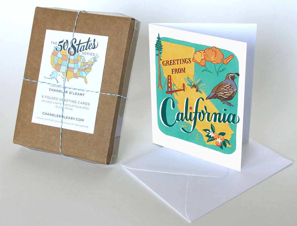 California State Card Chandler Oleary